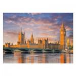 Puzzle  Clementoni-39269 Londres, Palais de Westminster, Maison du Parlement