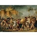 Puzzle  Clementoni-39345 Jacques-Louis David: Les Sabines, 1799