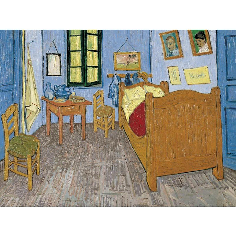 La chambre de Van Gogh u00e0 Arles - Vincent van Gogh - Puzzle - 1000 ...