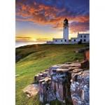 Puzzle  Trefl-10210 Le phare de Rua Reidh