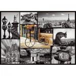 Puzzle  Trefl-10279 France, Paris : Collage