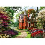Puzzle  Trefl-10355 Davison : Maison Victorienne