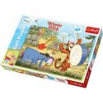 Puzzle  Trefl-13143 Winnie l'Ourson - La Fanfare