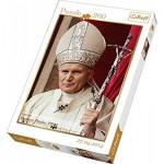 Puzzle  Trefl-13179 Pape Jean-Paul II