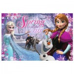 Puzzle  Trefl-13195 La Reine des Neiges : Spring is in the Air