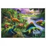 Puzzle  Trefl-13214 Dinosaures