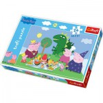 Puzzle  Trefl-14157 Maxi Pièces : Peppa Pig