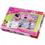 Puzzle  Trefl-14165 Maxi Pièces Recto/Verso : Minnie et Daisy