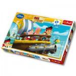 Trefl-14200 Puzzle Maxi : Jake et les pirates du pays imaginaire