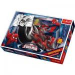 Puzzle  Trefl-14407 Maxi Pièces Recto/Verso : Spider-Man