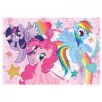 Puzzle  Trefl-14804 Pièces XXL avec Paillettes - My Little Pony