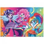 Puzzle  Trefl-14808 Pièces XXL avec Paillettes - My Little Pony