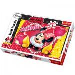 Puzzle  Trefl-15220 Minnie penseur