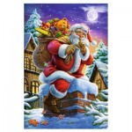 Puzzle  Trefl-15338 Père Noël