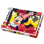 Puzzle  Trefl-16193 Minnie heureuse