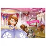 Trefl-16501 2 Puzzles Lumi Color - Princesse Sofia
