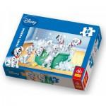 Puzzle  Trefl-17154 Les 101 Dalmatiens : Dans le bain