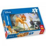 Puzzle  Trefl-17157 Bambi : Dispute dans la forêt