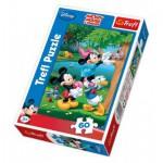 Puzzle  Trefl-17198 Mickey et ses amis : Le sauvetage du chaton