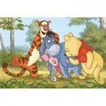 Puzzle  Trefl-17221 Winnie l'Ourson - Jeux dans la forêt