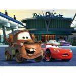 Puzzle  Trefl-18137 Cars : A la Station Essence