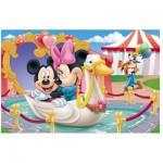 Puzzle  Trefl-19276 Mickey et Minnie s'aiment