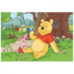 Puzzle  Trefl-19394 Winnie l'Ourson : Winnie et Porcinet
