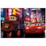 Puzzle  Trefl-19397 Cars 2 : Flash McQueen et Martin