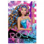 Trefl-19530 Mini Puzzle - Barbie Rock and Royals