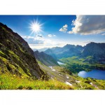 Puzzle  Trefl-27047 Vallée des cinq lacs polonais, Hautes Tatras