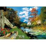 Puzzle  Trefl-27061 Alpes bavaroises