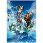 Puzzle  Trefl-27072 Reine de la mer