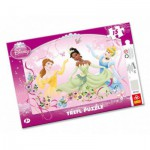 Trefl-31112 Puzzle Cadre : Princesses Disney