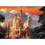 Puzzle  Trefl-33025 Château d'hiver de Neuschwanstein