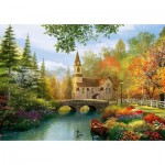Puzzle  Trefl-45000 Nostalgie d'Automne