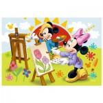 Trefl-54149-19554 Mini Puzzle - Mickey