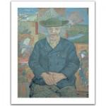 Pintoo-H1075 Puzzle en Plastique - Vincent Van Gogh : Le père Tanguy