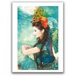 Pintoo-M1086 Puzzle en Plastique - Derjen : Femme dansant