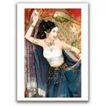 Pintoo-M1089 Puzzle en Plastique - Derjen : Femme dansant