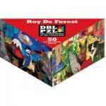 Pigment-and-Hue-DBLRDF-00921 Puzzle Double Face - Roy de Forest
