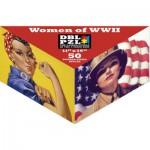 Pigment-and-Hue-DBLROSIE-00901 Puzzle Double Face - Femmes de la Seconde Guerre Mondiale