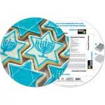 Pigment-and-Hue-RCHK-41204 Puzzle Rond déjà assemblé - Cookies Chanukah