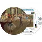 Pigment-and-Hue-RDEGAS-41203 Puzzle Rond déjà assemblé - Edgar Degas : Cours de danse