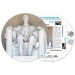 Pigment-and-Hue-RLINC-41201 Puzzle Rond déjà assemblé - The Lincoln Memorial