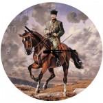 Art-Puzzle-4135 Puzzle Horloge - Ghazi Mustafa Kemal Atatürk (Pile non fournie)