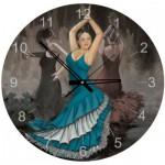 Art-Puzzle-4139 Puzzle Horloge - Flamenco (Pile non fournie)