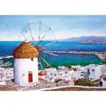 Puzzle  Art-Puzzle-4184 Grèce : Mykonos
