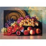 Art-Puzzle-4192 Puzzle Senteur - Corbeille de Fruits