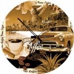 Art-Puzzle-4289 Puzzle Horloge - Un Café ? (Pile non fournie)