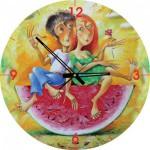 Art-Puzzle-4291 Puzzle Horloge - Je t'aime, un peu, beaucoup, passionément... (Pile non fournie)